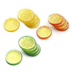 Deko Zitrone